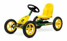 John Deere Pedal Go Kart - Green and Yellow Kids Go-Kart Childrens