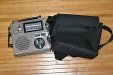 Grundig FR-200 AM/FM/SW1/SW2 - Emergency Radio/Light- Hand Crank/Battery