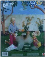 "Barbie ""Time for a Bubble Bath"" 25 Piece Tray Puzzle #41661"