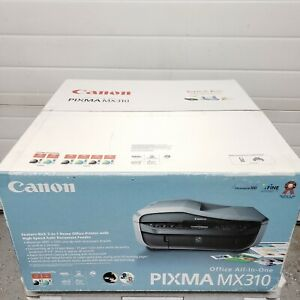 NEW Canon PIXMA MX310 All-In-One Inkjet Printer Fax Scan Copy Home Office SEALED