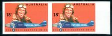 Australia 1978 18c Kingsford Smith IMPERFORATE PAIR Mint Unhinged
