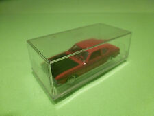 SCHUCO 816 FORD CAPRI 1700GT - RED 1:66 - RARE SELTEN - NEAR MINT IN BOX
