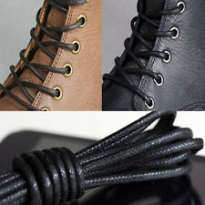 Men Wemen Thin Wax Shoe Laces Shoelace Waxed String for Leather Boot Brog*sg_wk