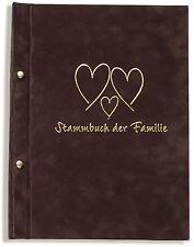 A4 Stammbuch der Familie -Tregran-, braun, Familienstammbuch, Stammbücher DIN A4