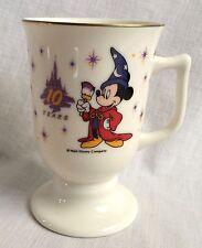Disneyland Tokyo Anniversary Souvenir China Cup Mickey Mouse Walt Disney Mug