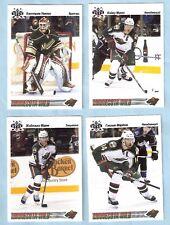 2009-10 Russian Bear Retro Minnesota Wild Team Set (4)