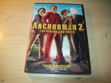 Anchorman 2: The Legend Continues (DVD, 2014) Brand New, Sealed