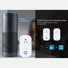 Floureon Smart Wi-Fi Socket Smart Control US Plug Outlet for Andriod IOS W/Alexa