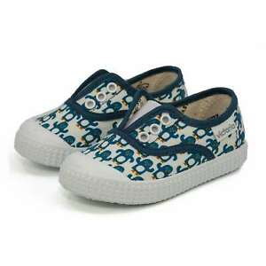 NEW Victoria Toddlers Slip On Canvas Cotton Lining Easy Fit Kids Shoes