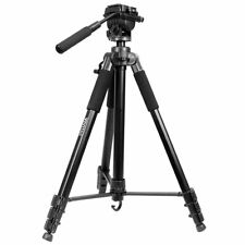 "VIVITAR 82"" (inch) Heavy Duty Photo Video Tripod & Case 11 lb Load Capacity"