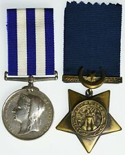 1882 Victoria Egypt Medal And Khedive Star Pair To 1808, PTE S.RIGBY, 2/MANCH:R