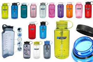 NALGENE Everyday Trinkflasche 1L BPA frei Weithals Wasser Sport Flasche NEU