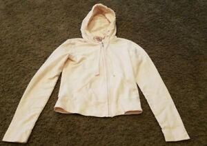 Juicy Couture Sweatshirt Hoodie Terry Cloth Embellished Petite