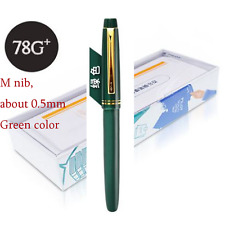2017 Model Pilot 78G+ Fountain Pen Screw Cap M Nib Green