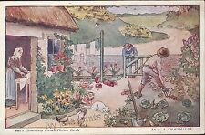 French Printed Collectable Artist Signed Postcards