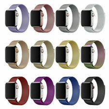 38/40/42/44mm For Apple Watch SE Strap Series 6/5/4/3/2/1 Magnetic Milanese Loop