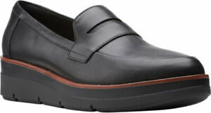 Women's  Clarks Shaylin Step Wedge Penny Loafer