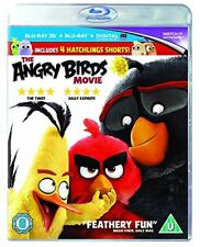 The Angry Birds Movie [Blu-ray 3D + Blu-ray + UV Copy] [2016] [DVD][Region 2]