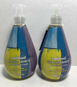 2 ct. Method Creative Growth Limited Art Collection Sea Breeze Hand Soap - NWT