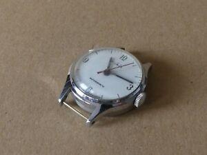 DDR Ruhla Kinder Armband Uhr silberfarben Antimagnetic 27,5mm Handaufzug