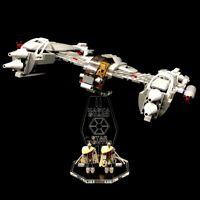 Acryl Display Stand Acrylglas Standfuss für LEGO 7673 Magna Guard Starfighter