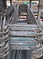 Layher  Doppel - Geländer  Rückengeländer 257cm  für Gerüst Baugerüst