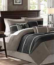 Madison Park Palmer Microsuede 7-Pc. Queen Comforter Set