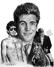 "JOHN F KENNEDY JR. 20 x 24"" LITHOGRAPH by artist Robert Stephen Simon L@@K"