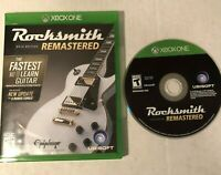 Rocksmith 2014 Edition Remastered (Xbox One, 2014) GAME ONLY NO CABLE