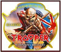 IRON MAIDEN The Trooper  Sticker