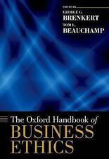NEW The Oxford Handbook of Business Ethics (Oxford Handbooks)