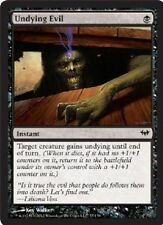 1x UNDYING EVIL - Rare - Dark Ascension - MTG - NM - Magic the Gathering