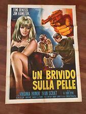 MANIFESTO,2F Un brivido sulla pelle Femi Benussi Van Dyke.1966 SEXY  SPY