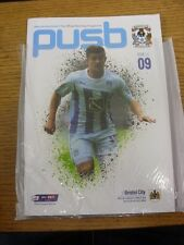 18/10/2014 Coventry City v Bristol City  . Unless previously listed in brackets
