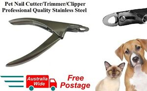 Pet Dog Cat Rabbit Nail Clipper Cutter Trimmer Grooming Toe Claw Care Blade