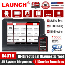 LAUNCH X431 V PRO OBD2 Scanner Bidirectional Diagnostic Tool ECU Coding PK V+