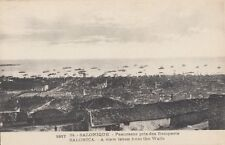 SALONICA ( Greece) :1917 A View taken from the Walls - M.S.R.