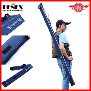 160cm Waterproof Fishing Rod Bag Carrier Folding Case Organizer Easy To Carry