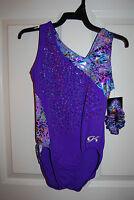 GK Elite Gymnastics Leotard - Adult Large - Purple