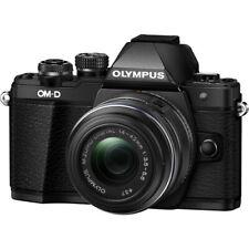 Olympus OM-D E-M10 Mark II Mirrorless Digital Camera 14-42mm R Lens Black