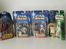 Star Wars Action Figures Collection Lot Of 4 Hasbro
