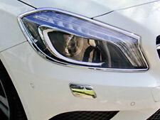 Mercedes W176 A Class Chrome Headlamp Surrounds Set A160 A180 A200 A250 A45 AMG