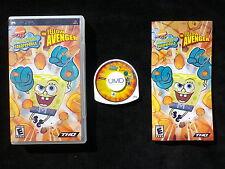 JEU Sony PSP : THE YELLOW AVENGER (Bob l'Eponge / SpongeBob, envoi suivi)