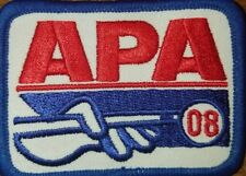 APA 2008 MEMBERSHIP PATCH PATCHES AMERICAN POOLPLAYERS