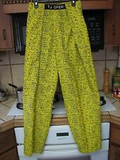 parachute muscle pants 1980s 1990's vintage Men's Xl unused or perfect condition
