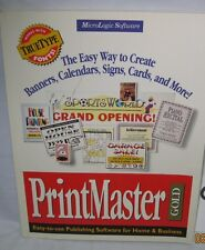 printmaster gold users guide users manual print master gold guide only