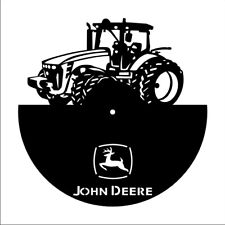 DXF CDR  File For CNC Plasma Laser Cut - John Deere tractor Clock. Ready to cut