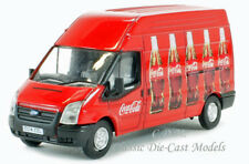 Oxford Ford Transit High Roof Delivery Van Coca Cola 1/76 OO Scale