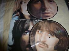 33T. DOUBLE PICTURE. THE BEATLES.WHITE ALBUM 1/2 . EDITION LIMITEE 500 COPIES