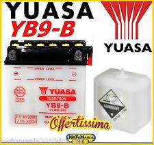 BATTERIA YUASA YB9-B 9Ah PIAGGIO LIBERTY 4T 50-125-150 2000 2001 2002 2003